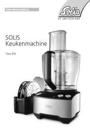 SOLIS Keukenmachine