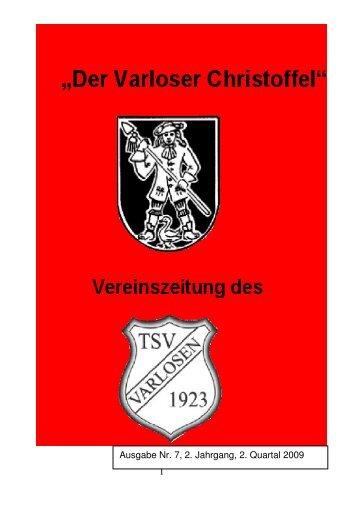 Vereinszeitung Nr.7, 2. Quartal 2009 - Varloser Crosslauf