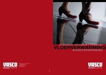 VLOERVERWARMING - Vasco