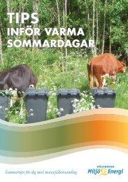 INFÖR VARMA SOMMARDAGAR - Västervik