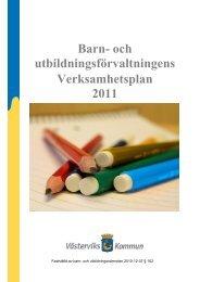 Verksamhetsplan 2010 - Västerviks kommun