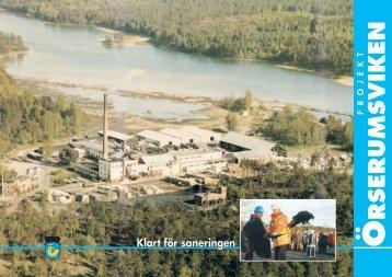Klart för sanering. Produktionsår 2002 - Västervik