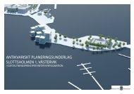 Antikvariskt planeringsunderlag del 2a - Västervik