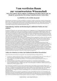 Tödts Theorie der ethischen Urteilsfindung am Beispiel von - VBio