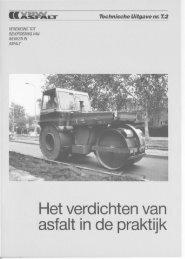 Het verdichten van asfalt in de praktijk - VBW-Asfalt