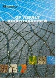 Op asfalt vortborduren - VBW-Asfalt