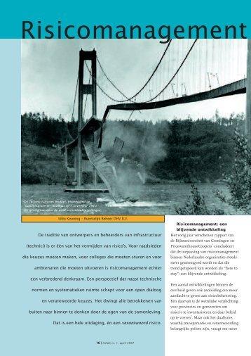 Risicomanagement in beheer: een brug te ver? - VBW-Asfalt