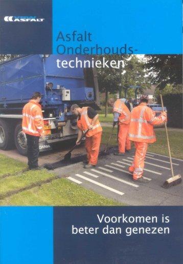 Asfalt onderhoudstechnieken - VBW-Asfalt