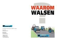Waarom walsen - VBW-Asfalt