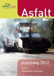 Asfaltdag 2012 - VBW-Asfalt