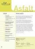 Asfaltdag 2012 - VBW-Asfalt - Page 2