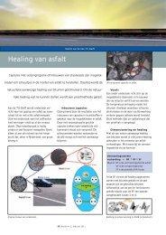 Healing van asfalt - VBW-Asfalt