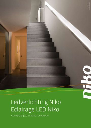 Ledverlichting Niko Eclairage LED Niko