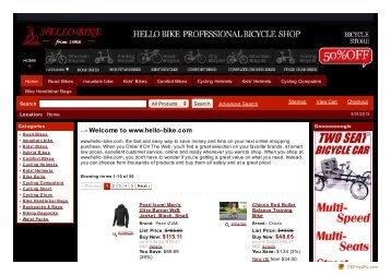 Welcome to www.hello-bike.com
