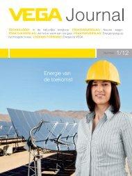Energie van de toekomst - VEGA Grieshaber KG