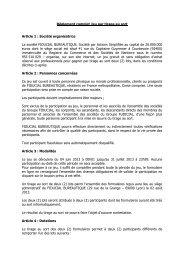 Règlement complet Jeu par tirage au sort Article 1 - PourMonBureau ...