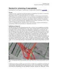 Standard for udveksling af vejprojektdata - Vejforum