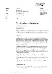 Ny vejregel om variable tavler - Vejforum
