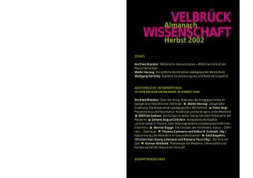 Herfried Münkler Über den Krieg - Velbrück Wissenschaft