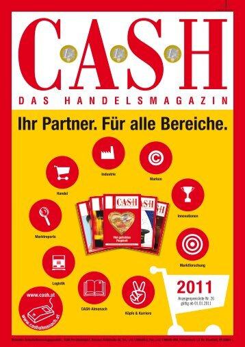 CASH – das Handelsmagazin, die Homepage, der Veranstalter