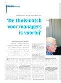 'De thuismatch voor managers is voorbij' - Jobat - Page 6