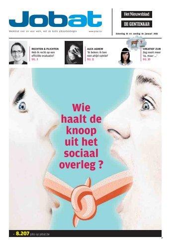 Jobat-krant 15 januari 2011