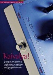 Kaivalya er, av alle ting, konstruert med basis i en ... - Trafomatic Audio