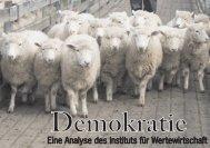 Demokratie - Institut für Wertewirtschaft