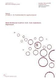 Godkendt referat fra Kvalitetsrådsmøde den 05.03.2013 - Region ...