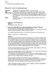 Referat FHU-møde 15. december 2010 - Region Nordjylland
