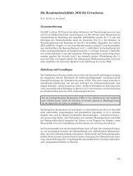 Die Reanimationsleitlinie 2010 für Erwachsene
