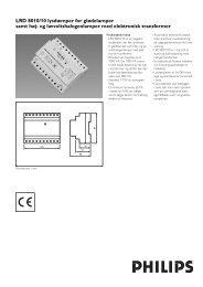 Flere informationer - Philips