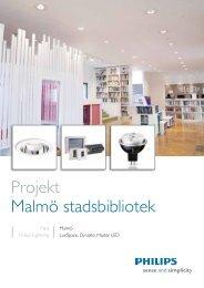 Projekt Malmö stadsbibliotek - Philips
