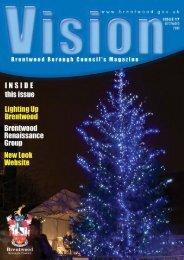 Vision - December 2008 - Brentwood Borough Council...