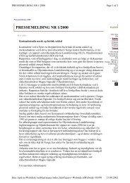 Kostnadsstudie norsk og britisk sokkel - Oljedirektoratet