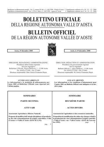 105 Kb 0' 26 - Regione Autonoma Valle d'Aosta