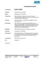 Produktspec ExPro-OOSF - AAK