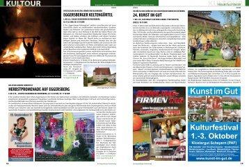 3. Oktober Klostergut Scheyern - Regensburger Stadtzeitung