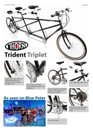 Trident Triplet - SJS Cycles