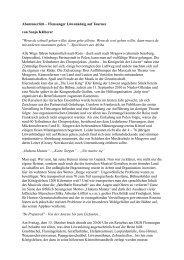 Der ausführliche Reisebericht (pdf) - Gießener Allgemeine