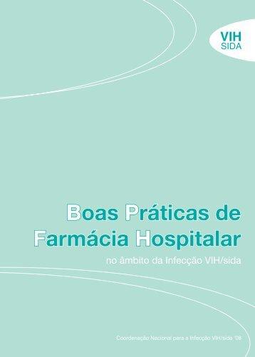 Boas Práticas de Farmácia Hospitalar - Portal da Saúde