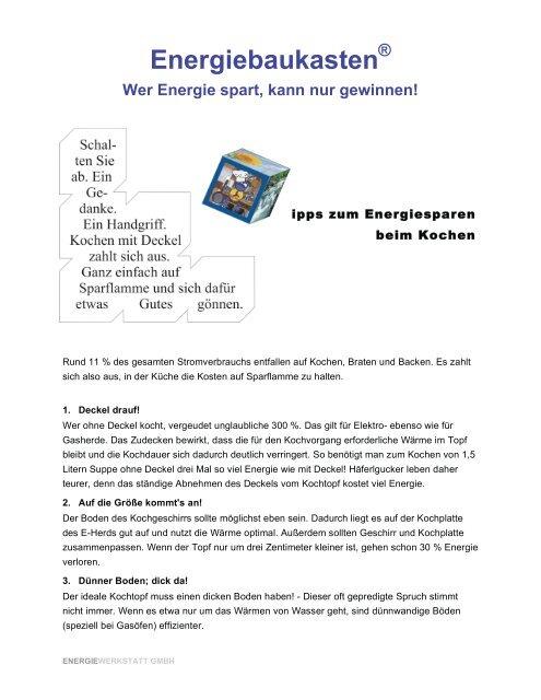 Energiebaukasten