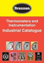 Brannan Industrial Catalogue - Brannan Thermometers and Gauges