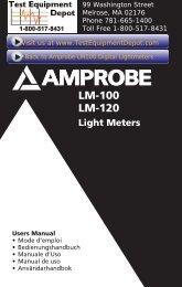 LM-100 LM-120 - Test Equipment Depot