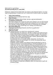 Referat af Vi er også Kirkens Generalforsamling den 21. marts 2004 ...