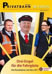 Privatbahnmagazin 2011 - Eisenbahner mit Herz - Veolia Verkehr