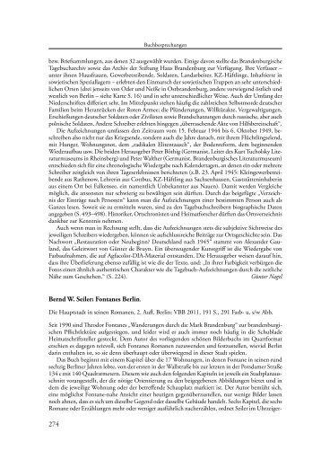 Jahrbuch für brandenburgische Landesgeschichte, 1/2012.
