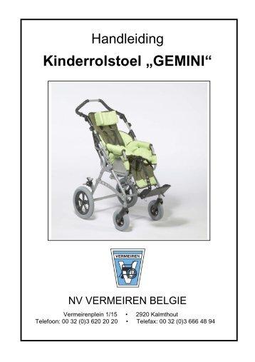 """Kinderrolstoel """"GEMINI"""" - Vermeiren"""