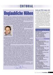 Kran & Bühne, August/September 2001: Panorama - Vertikal.net
