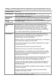 Stillings- og funktionsbeskrivelse for jordemoder svangre ...
